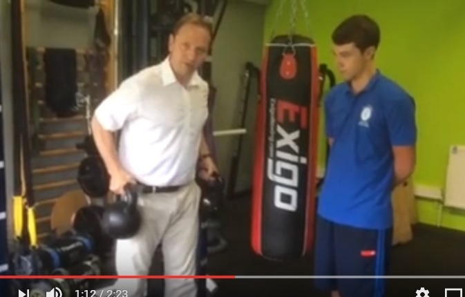 IDD Therapy kettle bell video