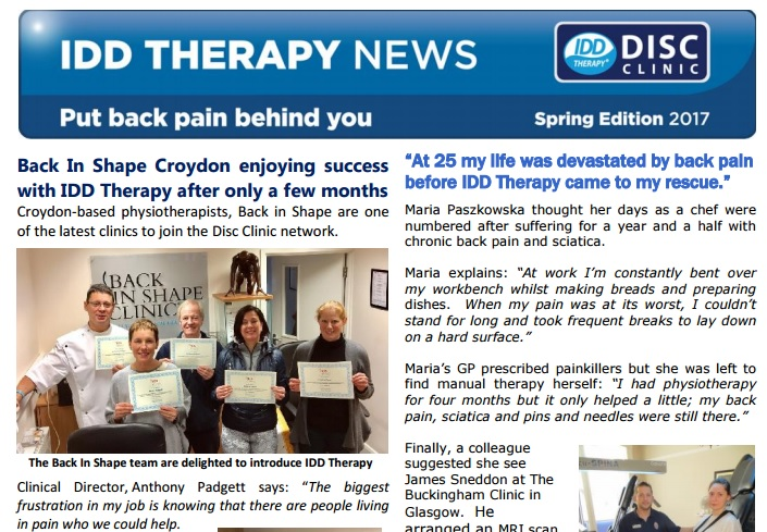 IDD Therapy Spring 2017 Newsletter – Open the PDF here | IDD Therapy