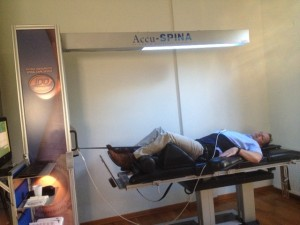 Stephen Small enjoying IDD Therapy as part of the training