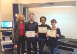 Berkhamsted Osteopaths Training Certificates