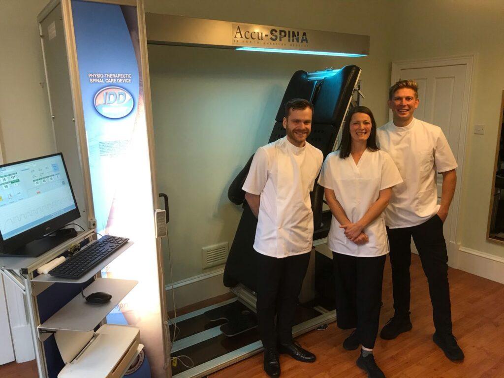 IDD Therapy Glasgow - Cram Osteopaths